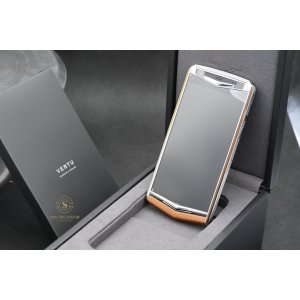 VERTU ASTER P BAROQUE BLACK - BROWN CALF