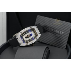 Richard Mille RM07 White Gold Snow Setting Diamond New 2020