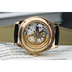 Jaeger LeCoultre Mặt Thiên Thạch Master Calendar Pink Gold 18K Q1552540