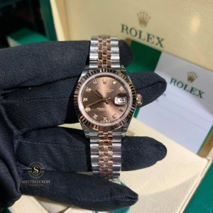 Rolex Oyster Perpetual Lady-Datejust Demi Rose Gold 28mm 279171