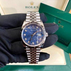 Rolex Datejust 126234 Steel Blue Dial - 36mm - New 100%