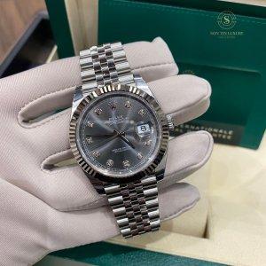 Rolex Datejust 126334 Steel 41mm - Grey Dial - New 100%